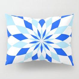 Geomatric Blue Pillow Sham
