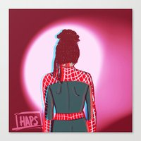 cosima Canvas Prints featuring Spidey!Cosima 1 by the-haps