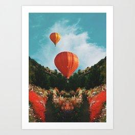 Hot Air Art Print