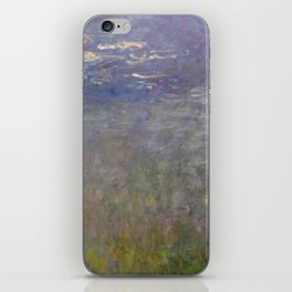 Monet, Water Lilies, 1915-1926 iPhone Skin