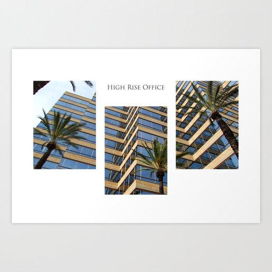 High Rise Office Art Print