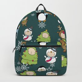 Children Christmas Costumes Pattern 9 Backpack