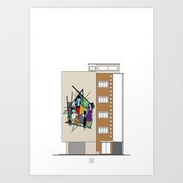 Edificio Rohen III Art Print