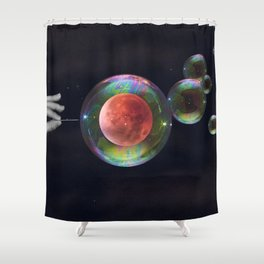Stop growing up Shower Curtain