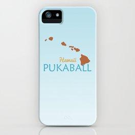 Hawaii Pukaball iPhone Case