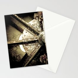 Metal Three Stationery Cards