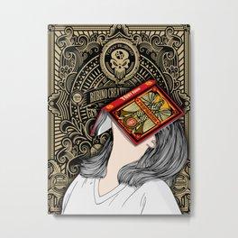 Rubino Gold Propaganda All Metal Print