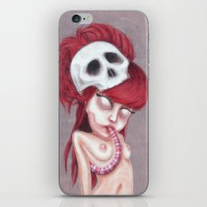 Blurry Red Vision iPhone & iPod Skin
