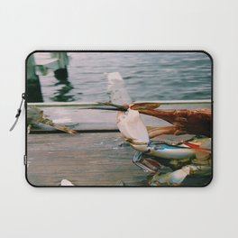 I'm Free!! | Blue crabs on a pier - Patuxent River, Maryland Laptop Sleeve