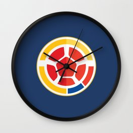 WORLDCUP IS COMING! - COLOMBIA Wall Clock
