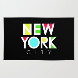 New York City Retro Rug