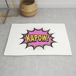 KAPOW! Comic Book Rug
