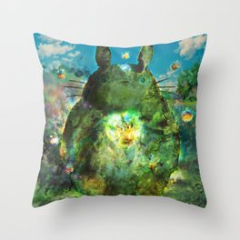 best neighbor  Throw Pillow