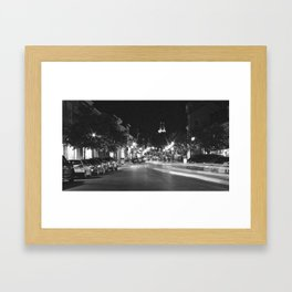 Naptown Framed Art Print