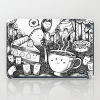 coffe iPad Cases featuring Smile coffe by Kisava NiCh