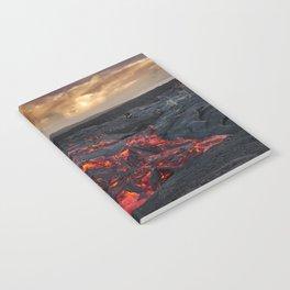 Kamukona (61g) Lava on the Big Island, Hawaii Notebook