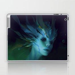 Mermaid portrait Laptop & iPad Skin