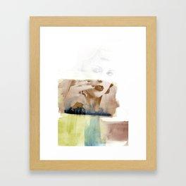 nicotine Framed Art Print