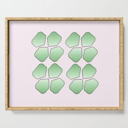 Four Leaf clover 2 Serving Tray