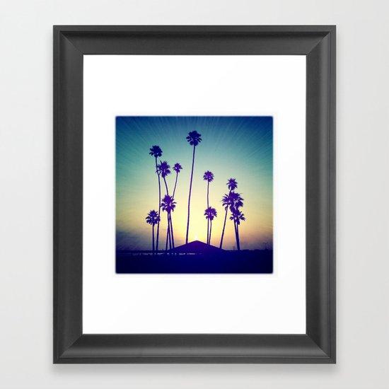 Oceanside Framed Art Print