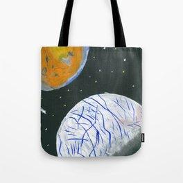 Europa and Io Tote Bag