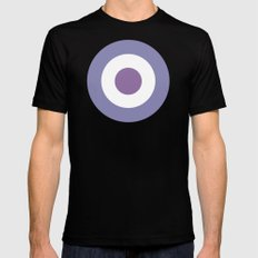 Hawkeye Black Mens Fitted Tee LARGE