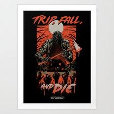 Every Slasher Movie Art Print