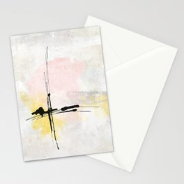 Lines Moving Stationery Cards