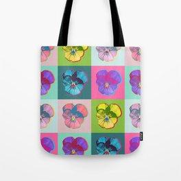 Viola Pop Art Tote Bag