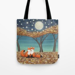 cuddly foxes Tote Bag