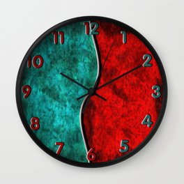Blood and Water Wall Clock