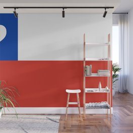 Texas State Flag with Heart Wall Mural