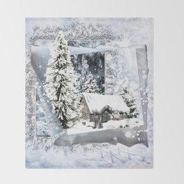 Winterwunderland Throw Blanket