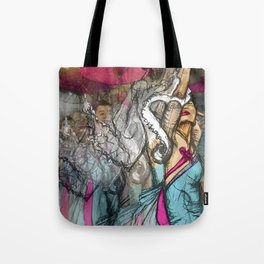 Chinese Dance  Tote Bag