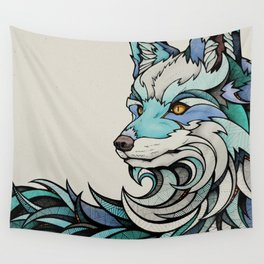 Berlin Fox Wall Tapestry