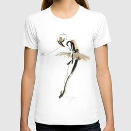 Ballet Dance Drawing T-shirt