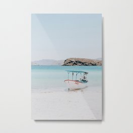 Boat Life IV / Baja California, Mexico Metal Print