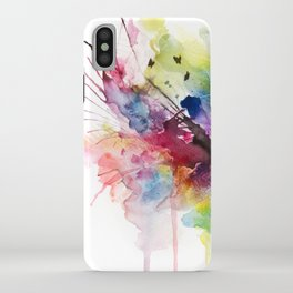 skies on fire iPhone Case