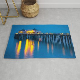 Malibu Pier In The Evening California United States Ultra HD Rug