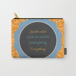 Everything, Everything by Nicola Yoon Carry-All Pouch