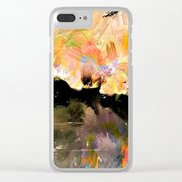 Waste Land Clear iPhone Case