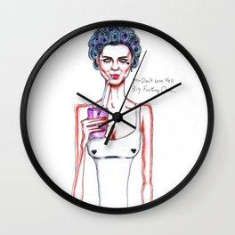 Marina // Starring Role Wall Clock