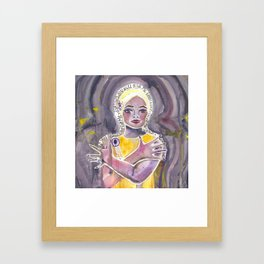 Eartha Kitt Framed Art Print