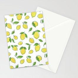 Lemon Leaf Stationery Cards