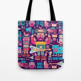 singpentinkhappy band Tote Bag