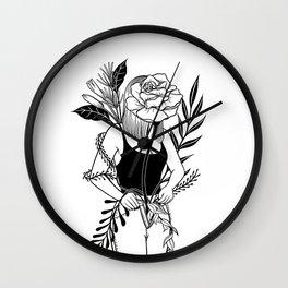 Let me bloom Ⅱ Wall Clock