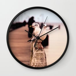 Gulls Wall Clock