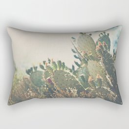 desert prickly pear cactus ... Rectangular Pillow