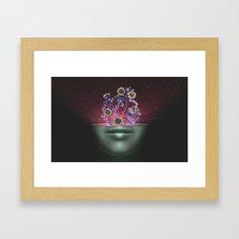 Open Your Mind Framed Art Print