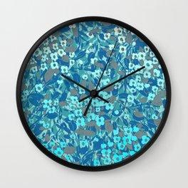 florets 3 Wall Clock